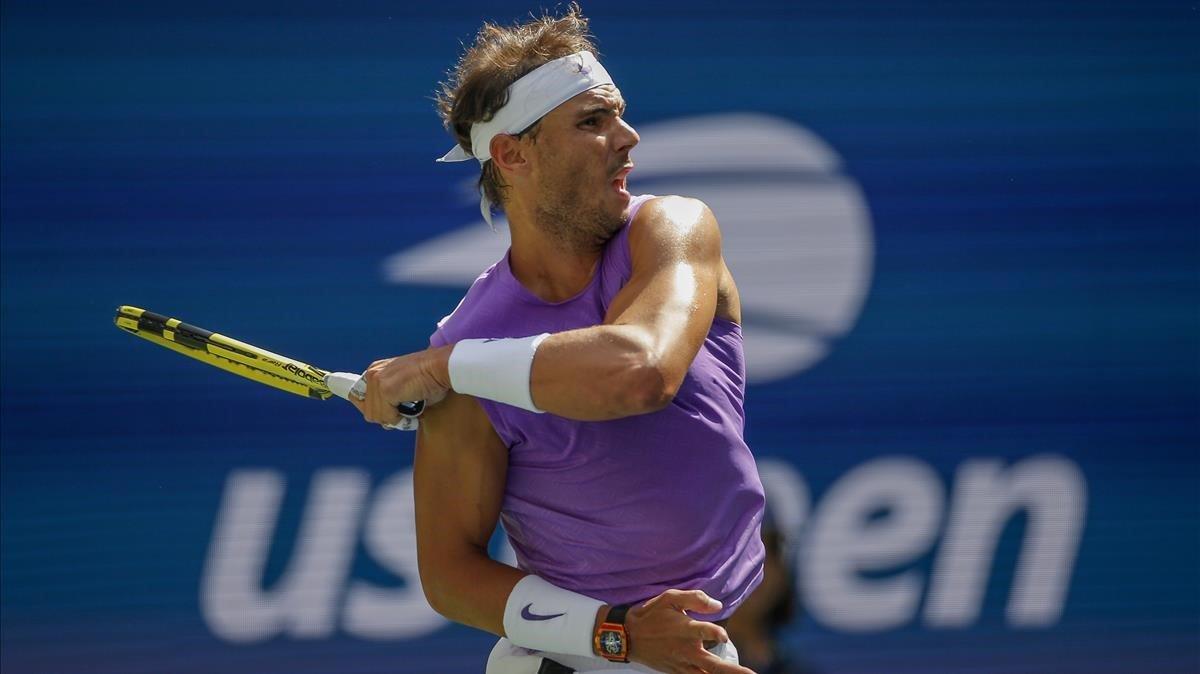 Nadal alcanza los octavos de final como Djokovic y Federer