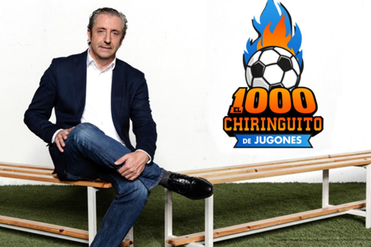 'El Chiringuito' celebra 1.000 programas reuniendo en plató a más de 30 colaboradores