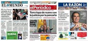 Prensa de hoy: Las portadas de los periódicos del sábado 21 de septiembre del 2019