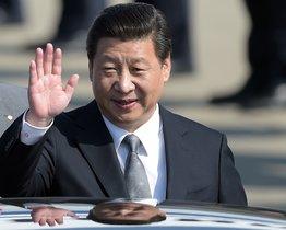 29/03/2014 El presidente de China, Xi Jinping, en un viaje oficial