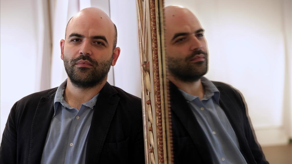 Roberto Saviano, uno de los firmantes del artículo conjunto en Le Monde.
