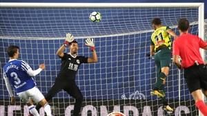 L'Espanyol s'emporta un valuós punt d'Anoeta