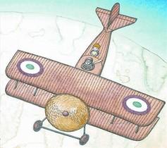 Saint-Exupéry, de piloto.