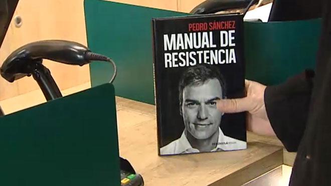 Sale a la venta el libro de Pedro Sáchez, Manual de resistencia.
