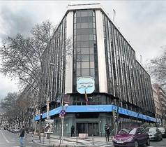 La sede del PP en Madrid