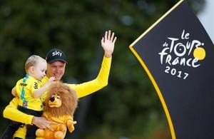 Rei Froome IV del Tour de França