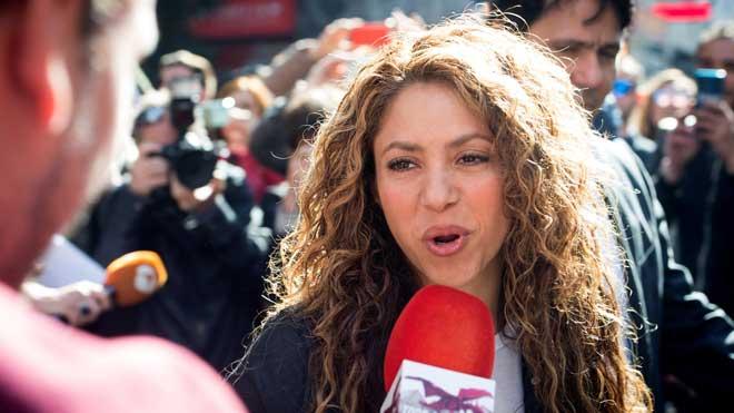 Shakira llega al juicio por el supuesto plagio de 'La bicicleta'.