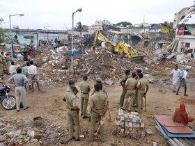 Una vez más las condiciones climáticas enlutan a la India (Imagen de archivo)
