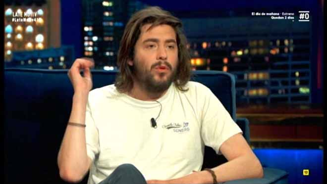 Salvador Sobral, en Late motiv (Movistar+).