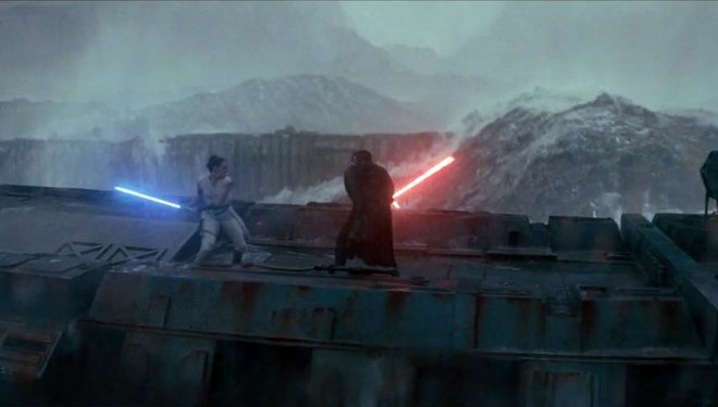Star Wars: Episodio IX, El ascenso de Skywalker.