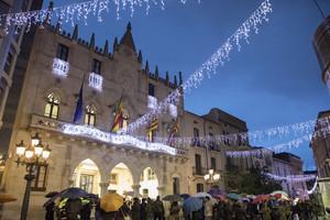 Terrassa inaugura la temporada de Navidad con el encendido del alumbrado público (2016)
