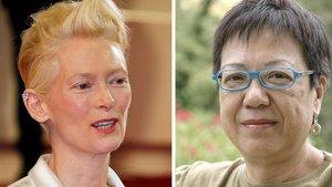 Tilda Swinton y Ann Hui.