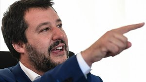 El vicepresidente y ministro deInterior Matteo Salvini.