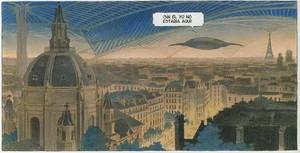Viñeta de 'Volver a París. La noche de las constelaciones'.