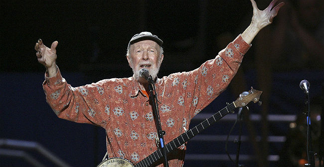 Un dels clàssics de Pete Seeger, Which Side Are You On?