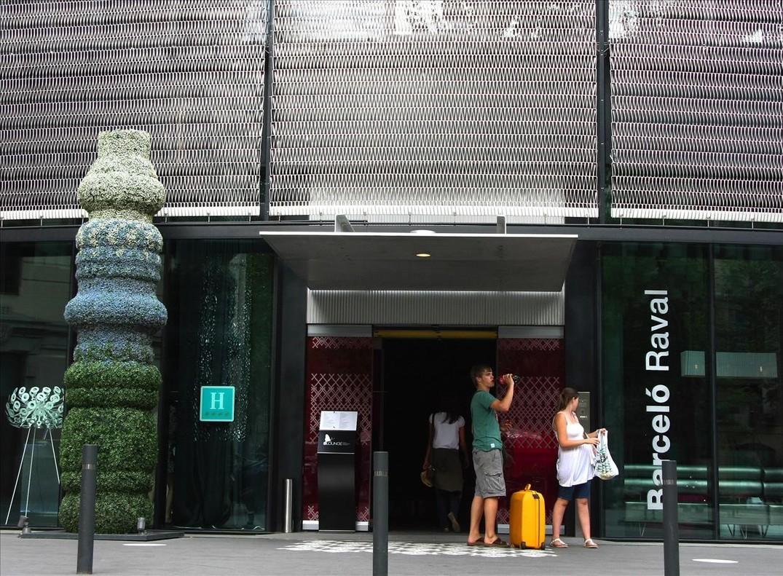 Hotel Barceló en el barrio del Raval de Barcelona.