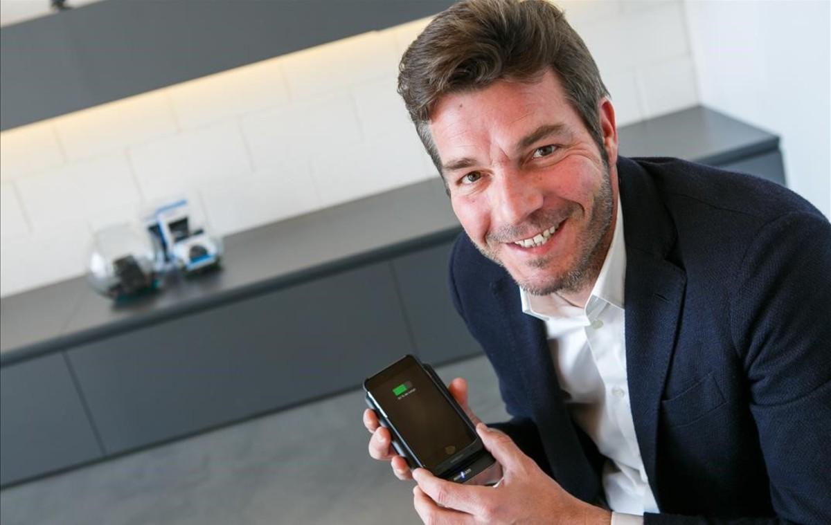 Jordi Gilberga, el fundador de Minibatt.