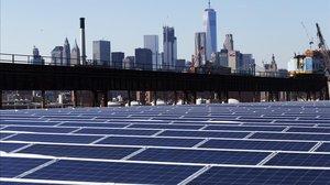 Parque fotovoltaico en los Estados Unidos.