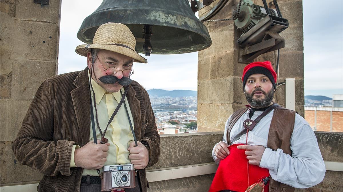 Pascali i Galobardes: «És molt interessant utilitzar el teu art per explicar la teva ciutat»