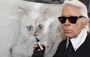 Choupette, la gata 'influencer' de Lagerfeld que també heretarà la seva fortuna