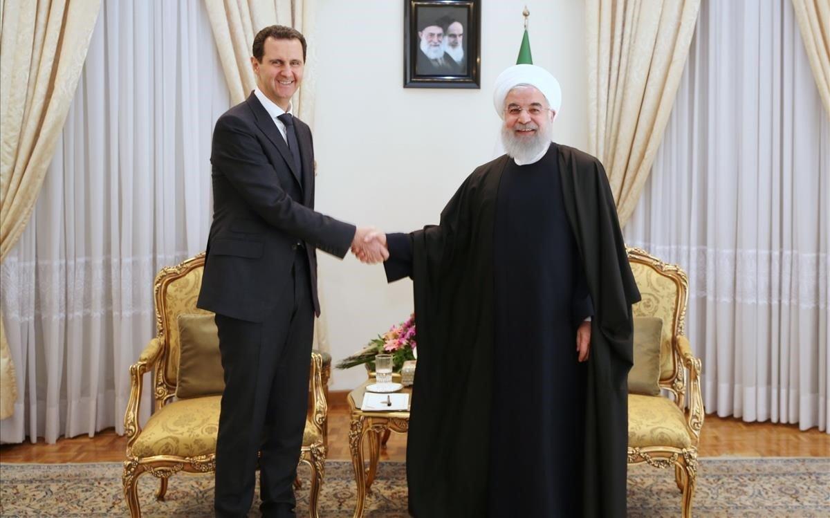 Al-Assad visita l'Iran per primera vegada des que va començar la guerra a Síria