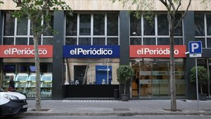 Sede de EL PERIÓDICO DE CATALUNYA en Barcelona.