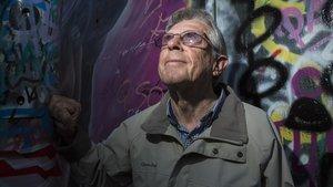 """Pere Blanco: """"Me entraron ganas de pintar murales, de pintar en la calle"""""""