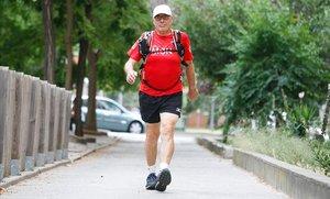 """Jaume Amiel: """"Quan surto a competir no noto els meus 75 anys"""""""