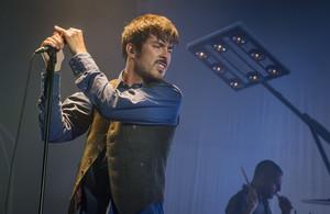 Pucho, de Vetusta Morla, en la Sala Razzmatazz de Barcelona, en mayo pasado.