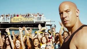 Vin Diesel, en un fotograma de Fast & furious 7.