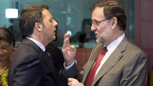 mbenach25559744 italian prime minister matteo renzi l talks with his spani161203185639