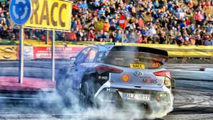 La segurdad es clave en el RallyRACC de Catalunya.