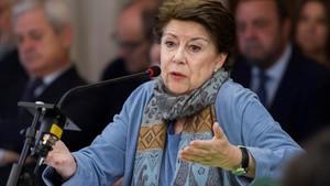 La exconsejera andaluza de Hacienda Magdalena Álvarez declara, este lunes, en el juicio por el caso ERE.