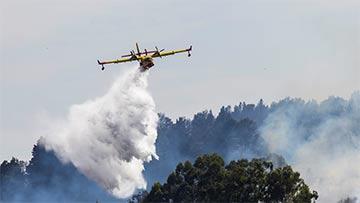 El incendio en Gran Canaria comienza a remitir