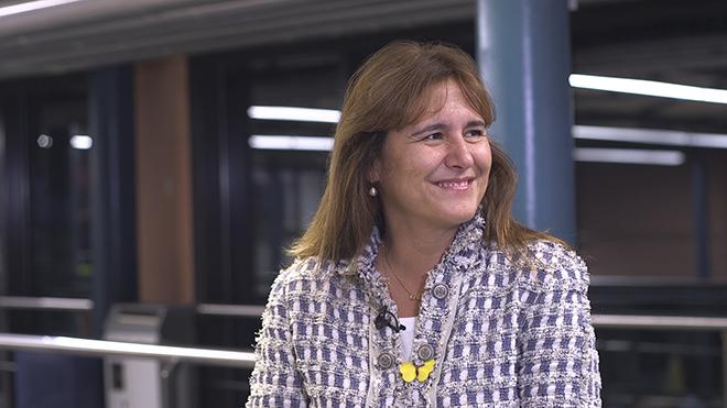Laura Borràs: «Reclamarem exercir el dret d'autodeterminació»