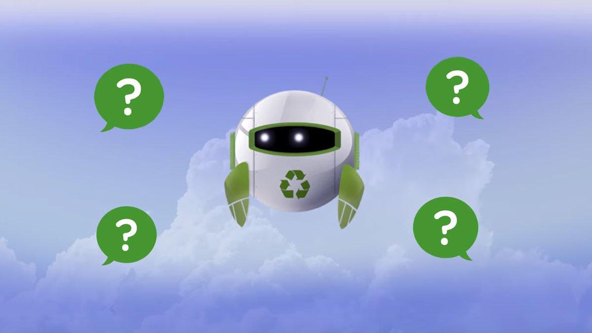 A.I.R-e, el asistente inteligente de reciclaje.