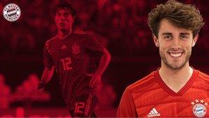 Álvaro Odriozola nuevo jugador del Bayern de Múnich.