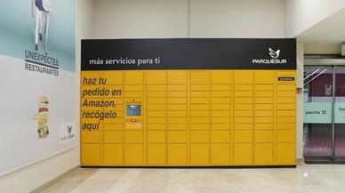 Amazon estrena 120 taquilles en 30 ciutats per recollir comandes