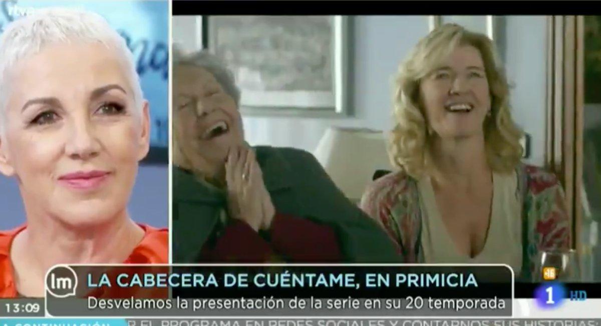 Ana Torroja en 'La mañana de La 1'.