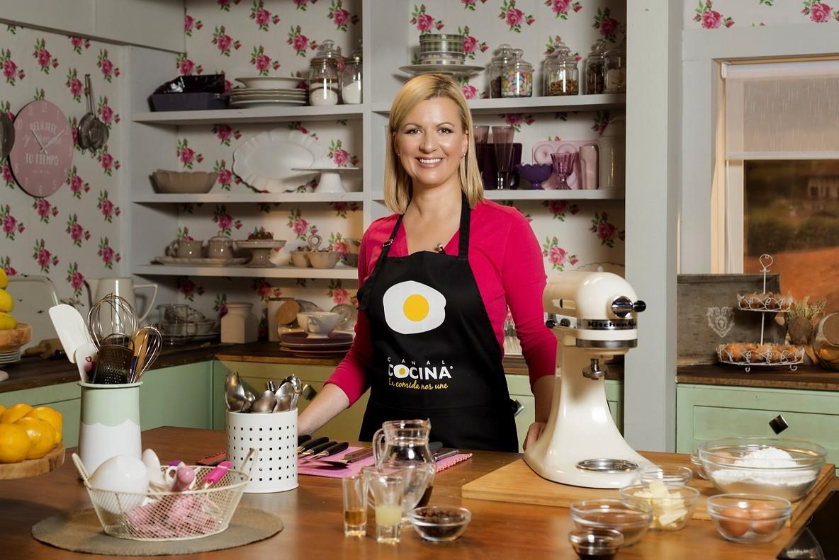 La prestigiosa repostera canadiense Anna Olson, nueva estrella de Canal Cocina.