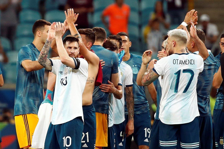 La selección de Argentina en laCopa América 2019.