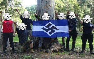 Grupo neonazi australiano denominadoAntipodean Resistance.