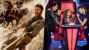 Ben-Hur será la apuesta de Telecinco contra el estreno de La voz en Antena 3.