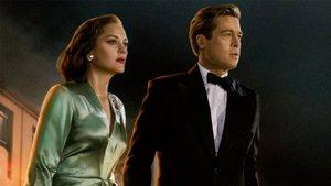 Brad Pitt y Marion Cotillard, protagonistas de Aliados.