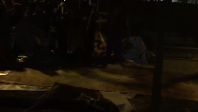 Una sortida nocturna duna brigada de netejaa Barcelona el mes de març de lany passat.
