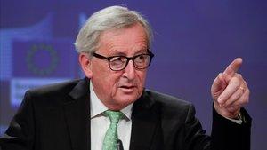 El presidente de la Comision Europe,Jean-Claude Juncker.