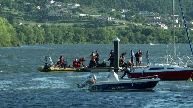 Desapareix un atleta en aigües del Miño mentre disputava una prova de triatló