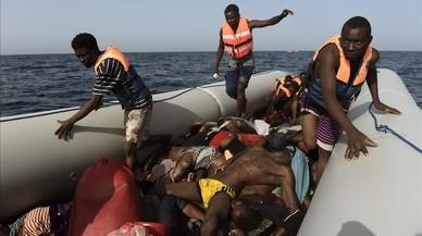 La vida y la muerte se dan la mano en el 'Golfo Azzurro'. Segunda parte.