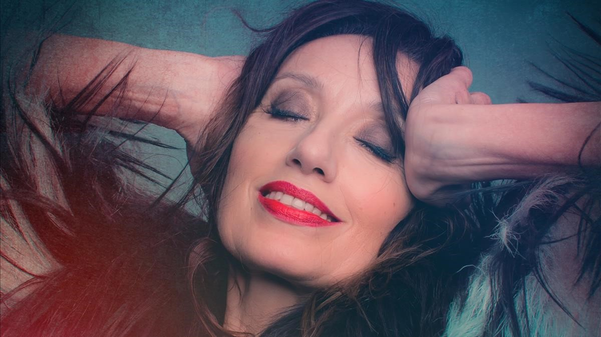 La cantante Luz Casal.