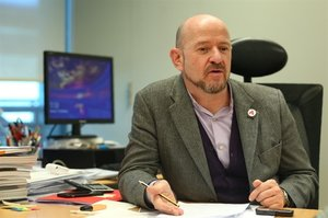 El director de ARCO, Carlos Urroz.
